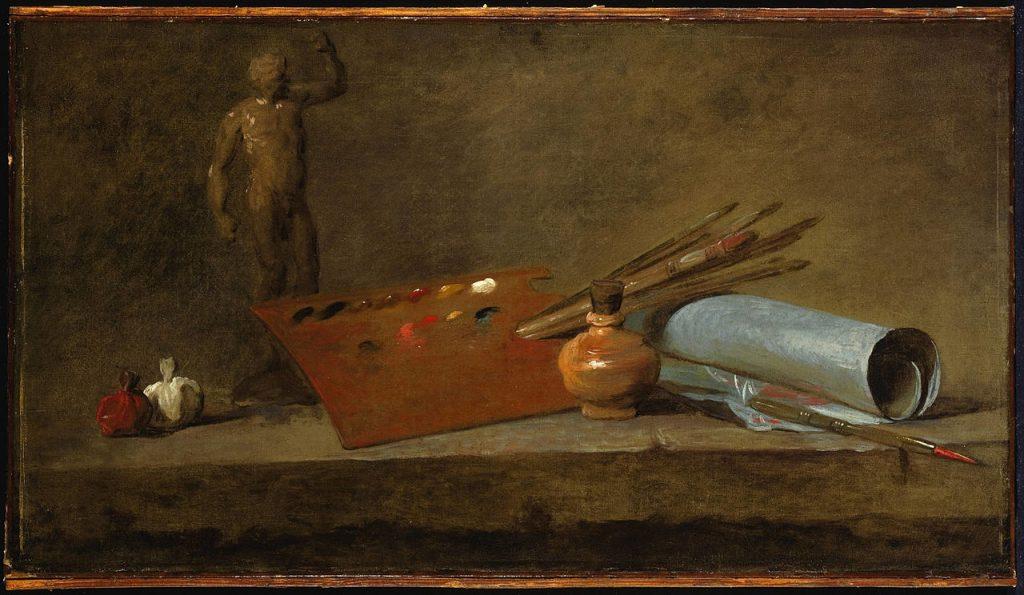 Chardin,_Jean-Baptiste_Siméon,_Attributes_of_the_Painter,_ca._1725-27