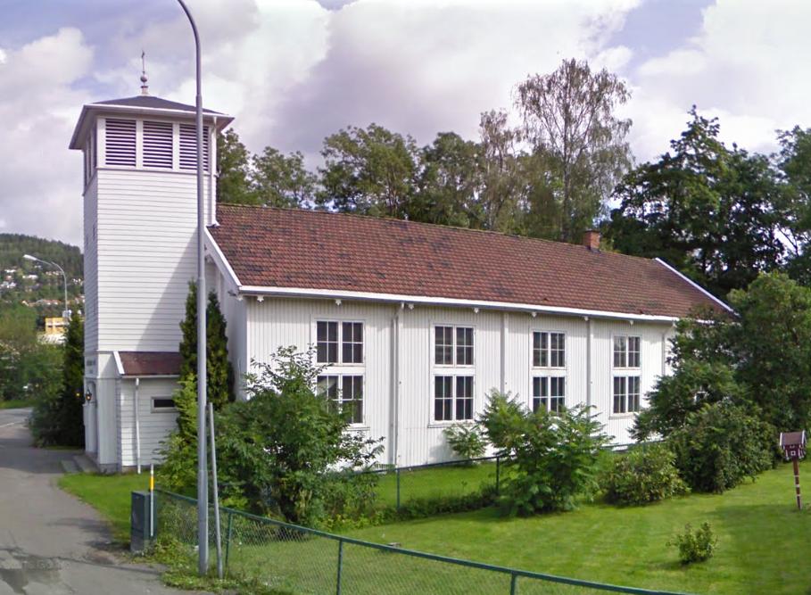 Landfalløya kirke, moské Drammen 2016