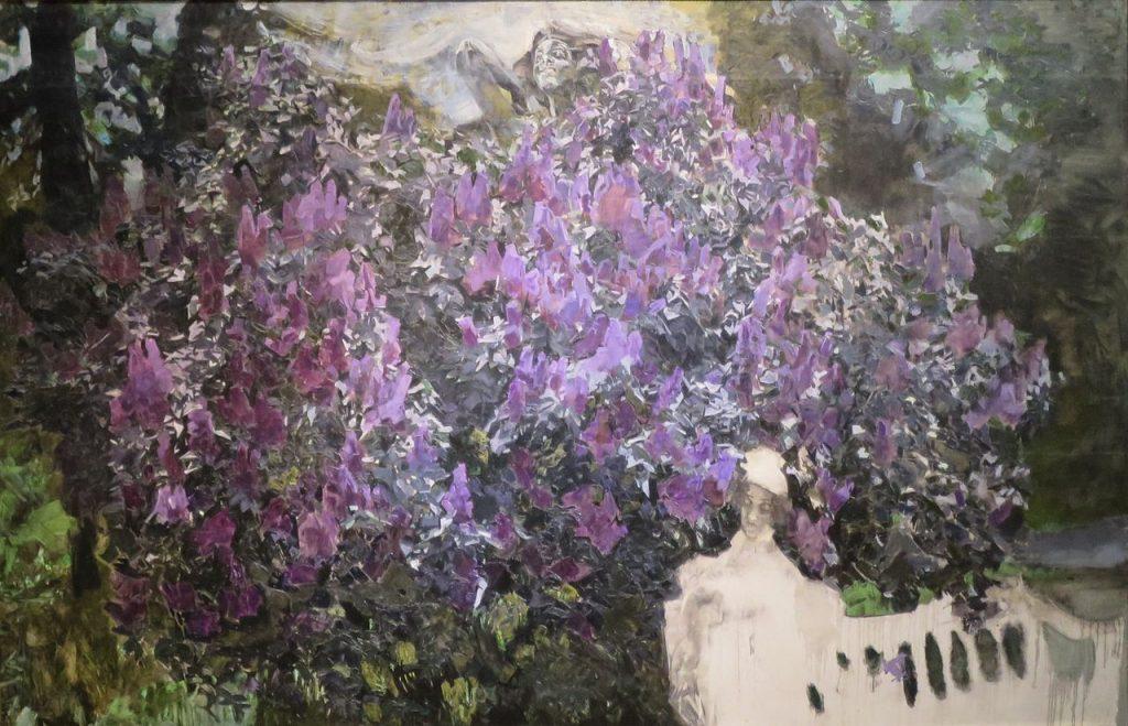'Lilacs'_by_Mikhail_Vrubel,_unfinished,_1901,_Tretyakov_Gallery