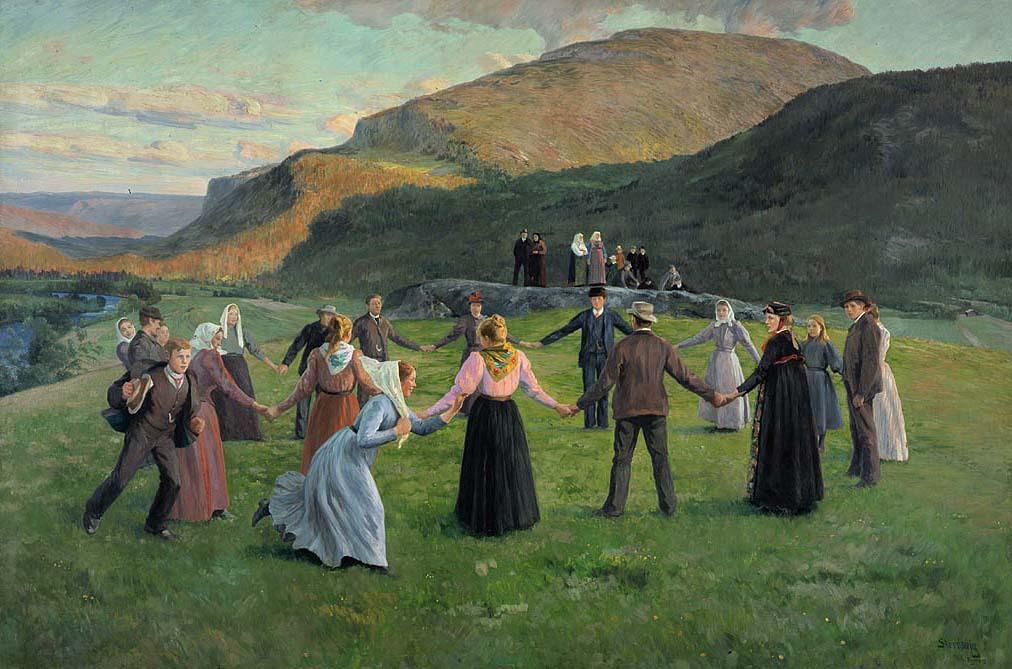 Ungdomsfest.i.Eggedal.1895
