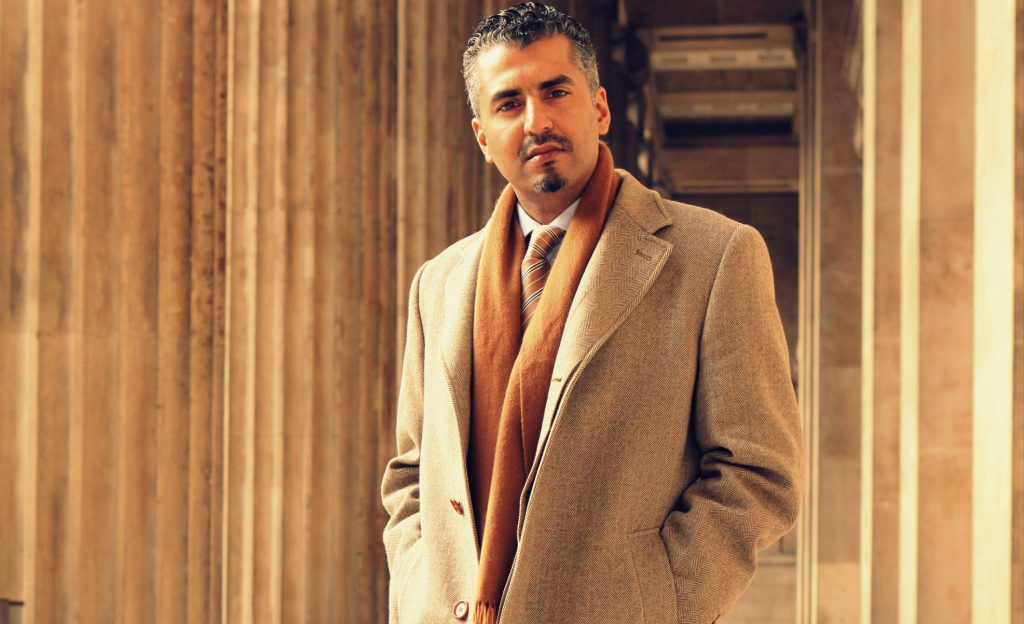 Mandatory Credit: Photo by Jonathan Player/REX (1076433d)  Maajid Nawaz  Maajid Nawaz one time extremist who now works against Islamist extremism, British Museum, London, Britain - 11 Nov 2009  Maajid Nawaz at the entrance to the British Museum where the Quilliam Foundation was launched in April last year with the aim of reviving Western Islam and uniting against extremism. Nawaz had been a recruiter for the Islamist organisation Hizb ut-Tahrir, but after a spell in jail in Egypt, where the organisation is illegal, he changed his mind and helped start the Quilliam Foundation to counter Islamist extremism.