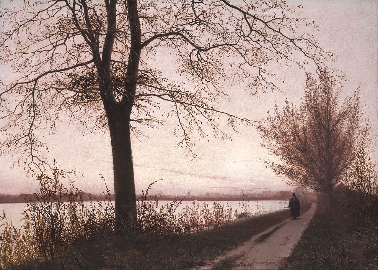 Christen_Købke_-_Autumn_Morning_on_Lake_Sortedam