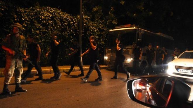 Erdogan militærkupp kuppforsøk Tyrkia 2016