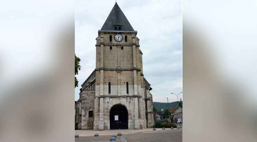 Normandy town of Saint-Etienne-du Rouvray