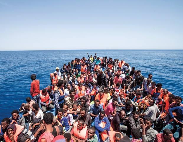båtmigranter
