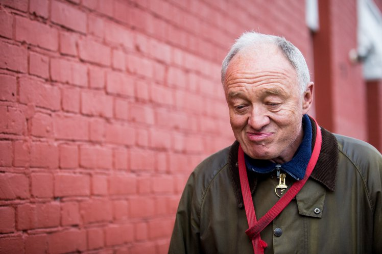 Ken Livingstone leaves his home in London as he comes under renewed pressure over his comments about Jews, April 29 2016. The former Mayor of London was suspended from the Labour party yesterday following a series of remarks about Zionism and Hitler.