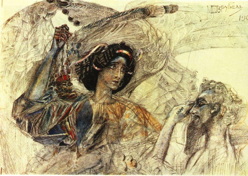 the-six-winged-seraph-Study-1905