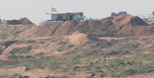 Hamas training base that was built with £60,000 of British aid.  Ian Birrell: This is also said to be a picture of the base. Need to get confirmation still, but looks likely... ***NEED TO CONFIRM, VIA IAN BIRRELL***