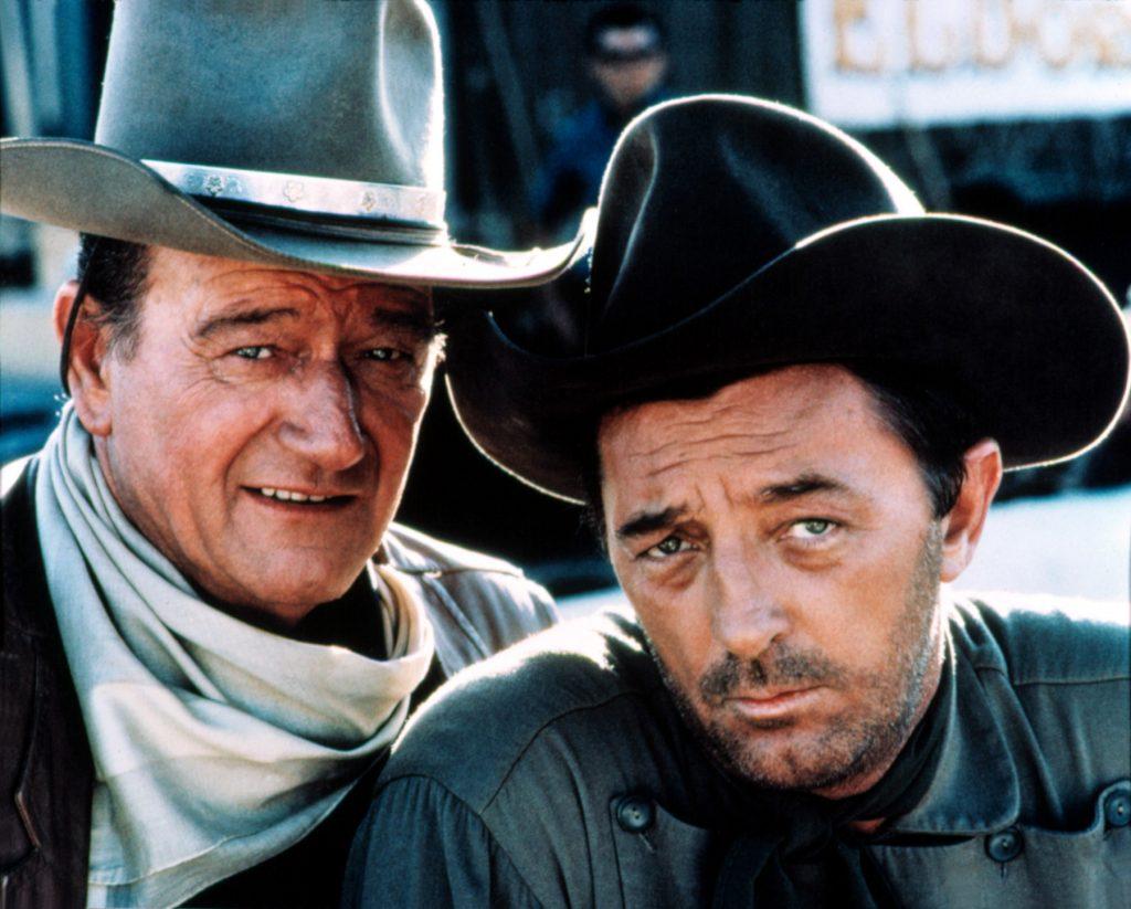 John_Wayne - el dorado - & Robert Mitchum