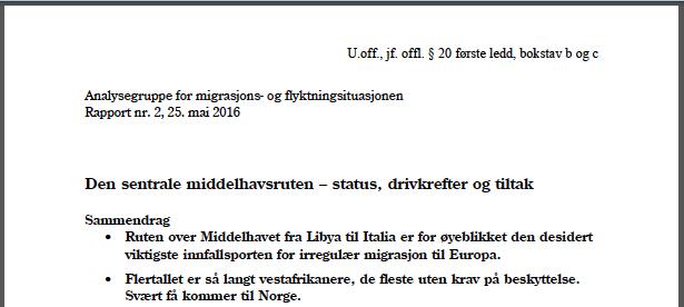 rapport-analysegruppe-migrasjon