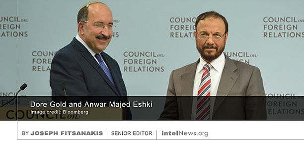 Dore-Gold-and-Anwar-Eshki-in-a-Council-of-Foreign-Relations-meeting