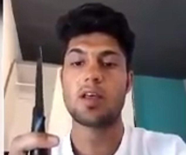 Riaz Khan Ahmadzai .knife