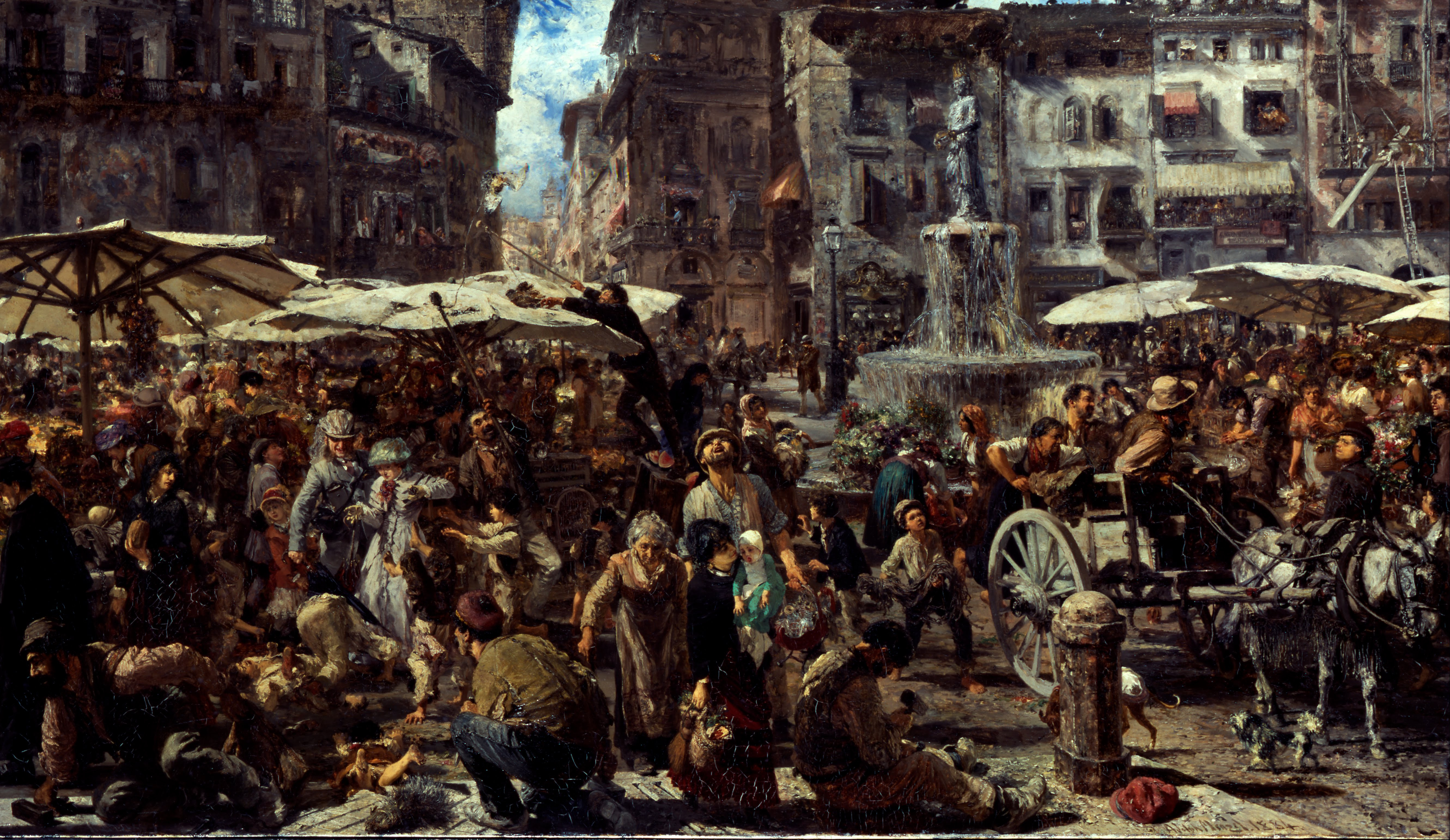 adolph_menzel_-_piazza_derbe_in_verona_-_google_art_project