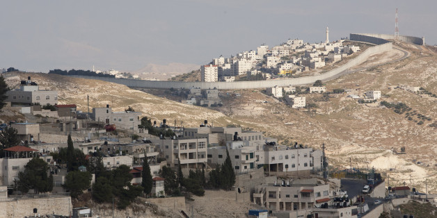 West Bank Barrier Wall in Jerusalem, Israel