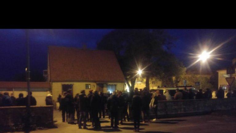 visby-demonstrasjon