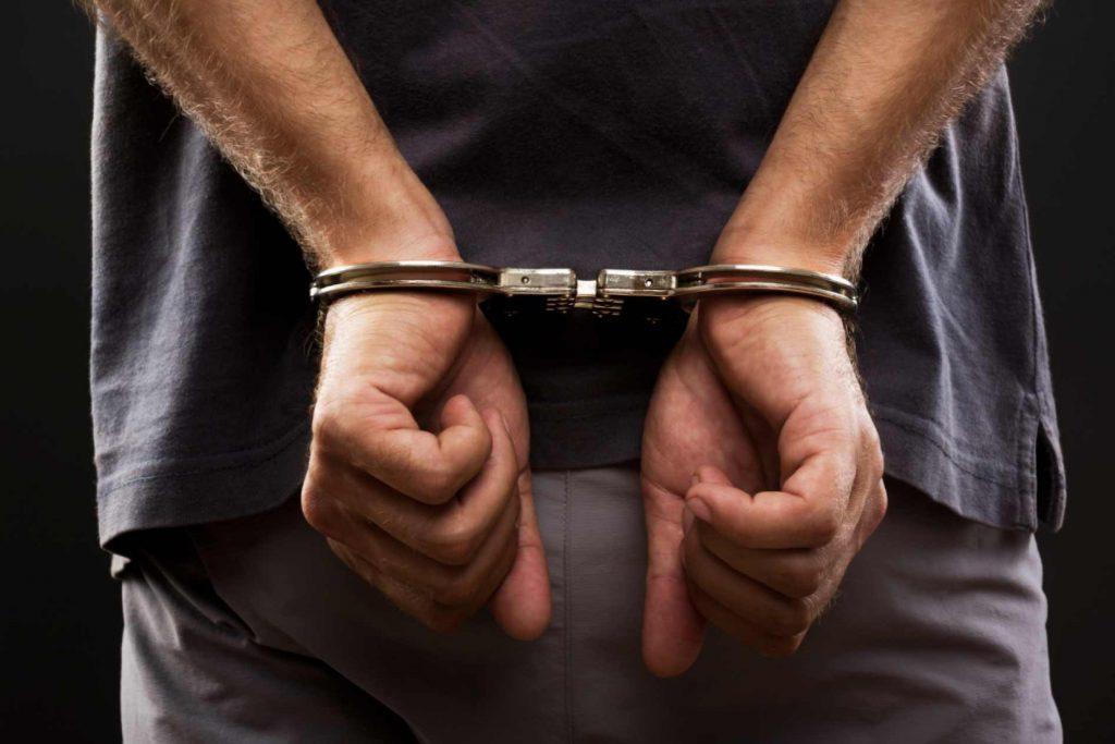 arrestert-handjern
