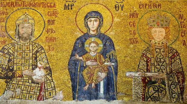 mosaikk-kristus