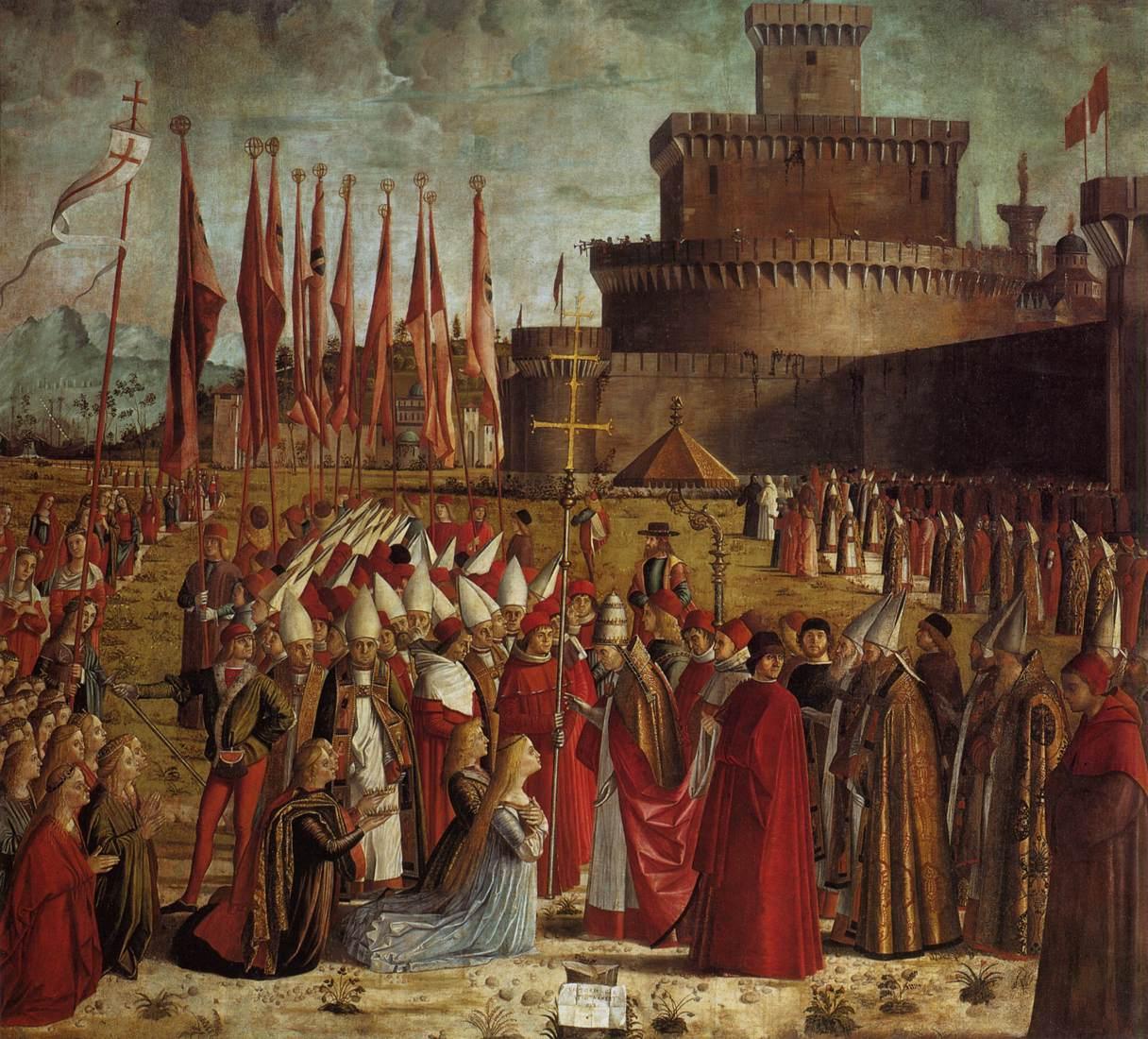 Vittore_carpaccio,_Pilgrims_Meet_the_Pope_01