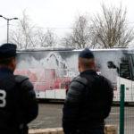 Angrep kampanjebussene til Marine Le Pen