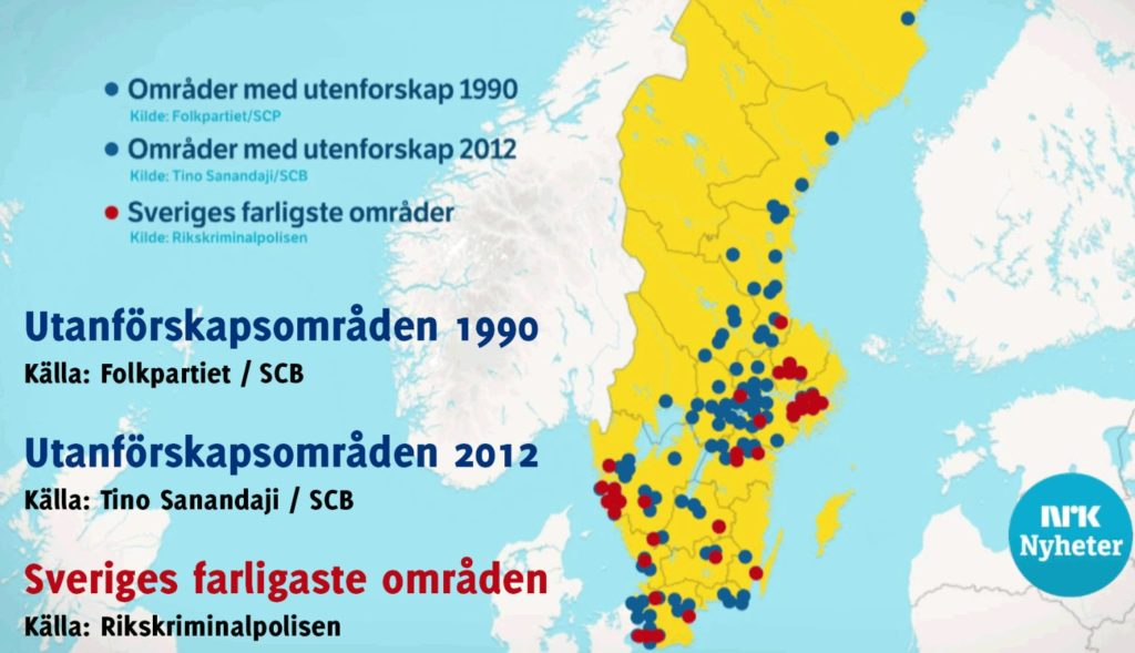 How Should NATO React To The Threat From Sweden News - Sweden no go zones map