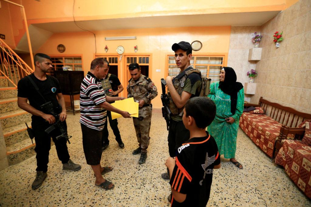 Usas bevis mot irak