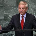 Carl Bildt viser globalismens autoritære ansikt