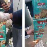 Muslimer brenner Pampers-bleier