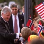 Hvorfor er Bill Clinton i Norge?