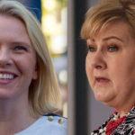 Sylvi nekter å stå skolerett for Erna og Aftenposten