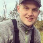 Knivdrept på jobb: Håvard Pedersen ble 18 år