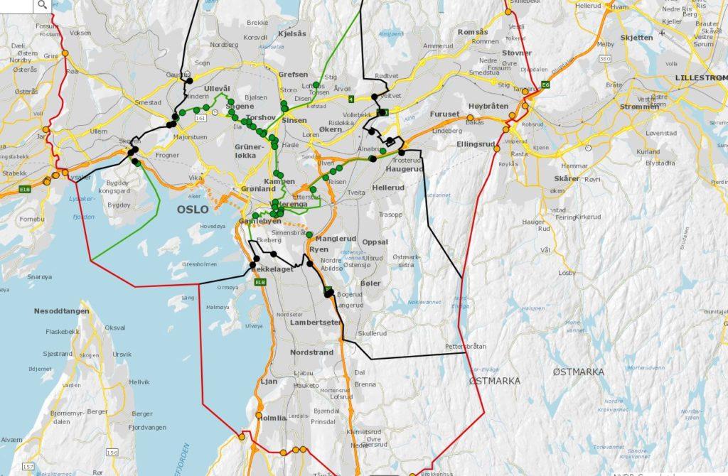 Nye Bomstasjoner I Oslo En Bymur For Sentrumsbutikkene Document