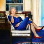 Clinton i blå kjole i Epsteins hus sier det meste