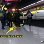 Madrid: Afrikansk migrant skubber politibetjent i døden