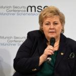 Nordmenn har ikke historiske rettigheter til Norge, mener Erna Solberg