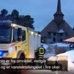 NRK og lokalavisene: Kirkebrann-siktet er «fra området», «lokal ung mann», «fra Nord-Gudbrandsdal»