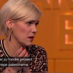 Sigrid Bonde Tusvik på NRK i beste sendetid: – Israelerne jobber hundre prosent med å drepe palestinerne