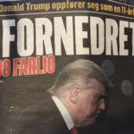 Psykotisk Trump-hat i norske medier