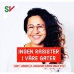Hasti Hamidi (SV) får gjennomslag for å fjerne «rasistisk benk»