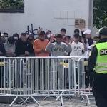 Voldelige angrep på SIAN i Drammen. Politiet slet med å få kontroll