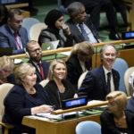 Ja, det var påtroppende FrP-leder Sylvi Listhaug og Erna Solberg som fremforhandlet migrasjonsavtalen