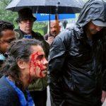 Offeret for knivstikking i London sier britene har ofret ytringsfriheten for å tilfredsstille en muslimsk mobb