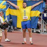 Svensk gullvinner blir kalt rasist fordi han erklærte seg som en svensk viking
