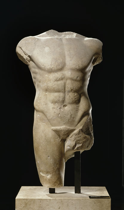 archaic style sculpture